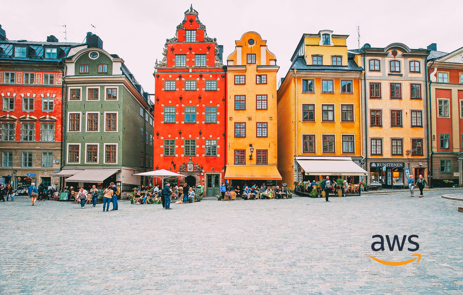 AWS Europe Region Stockholm