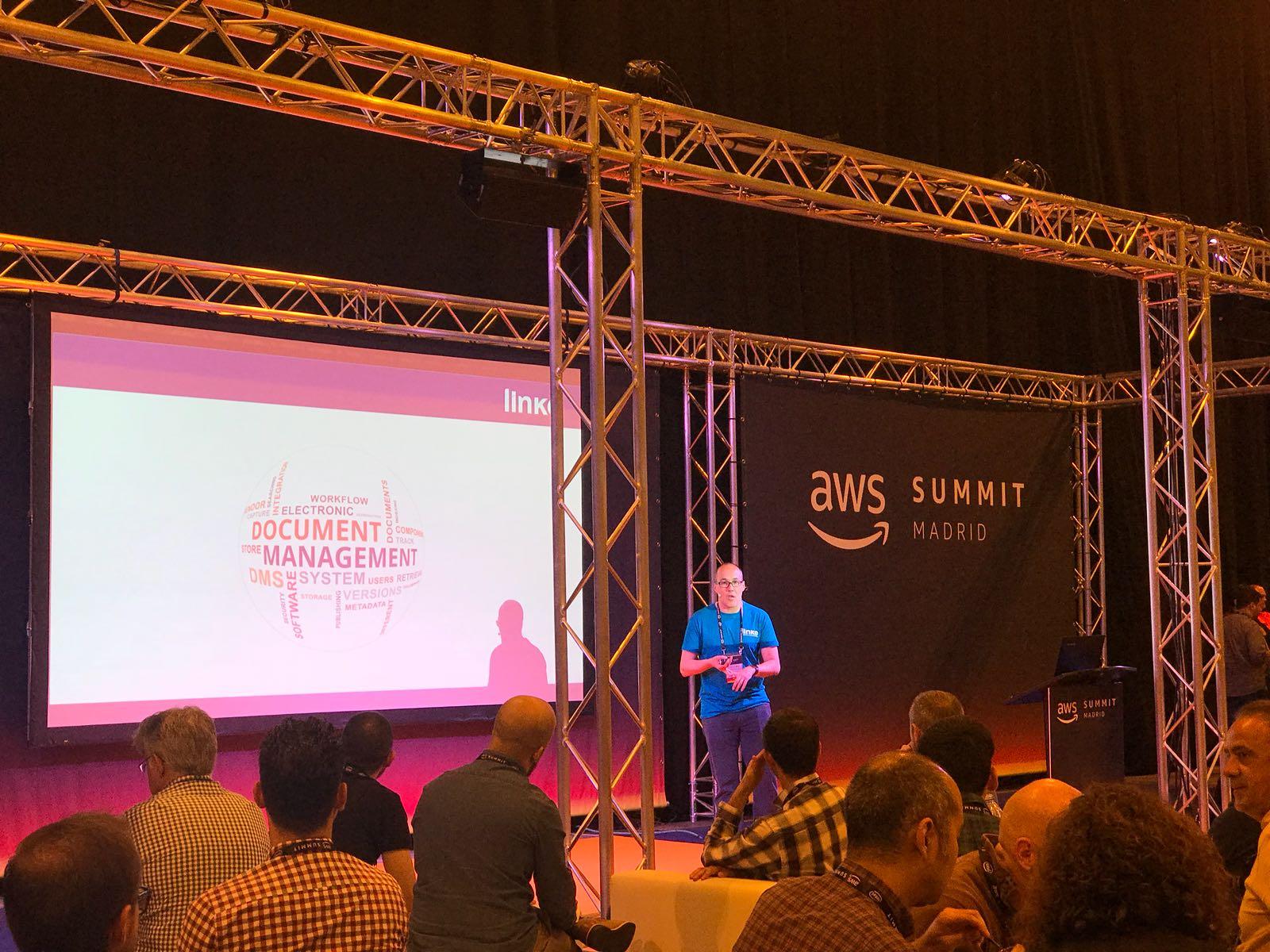 aws summit madrid 2018 linke