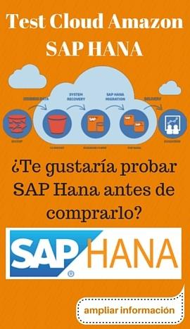 Test Cloud Amazon SAP HANA