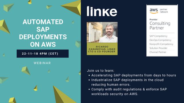 WEBINAR – Automated SAP Deployments on AWS